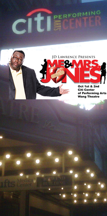 me and mrs jones, the dramedy premiered at wang theater in Boston