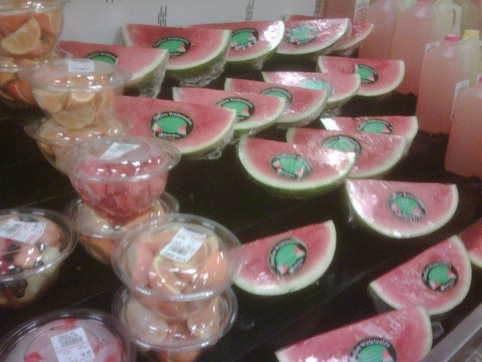 watermelon prices are cutting up in supermarkets