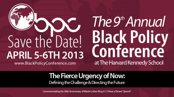 Black Policy Conference 2013