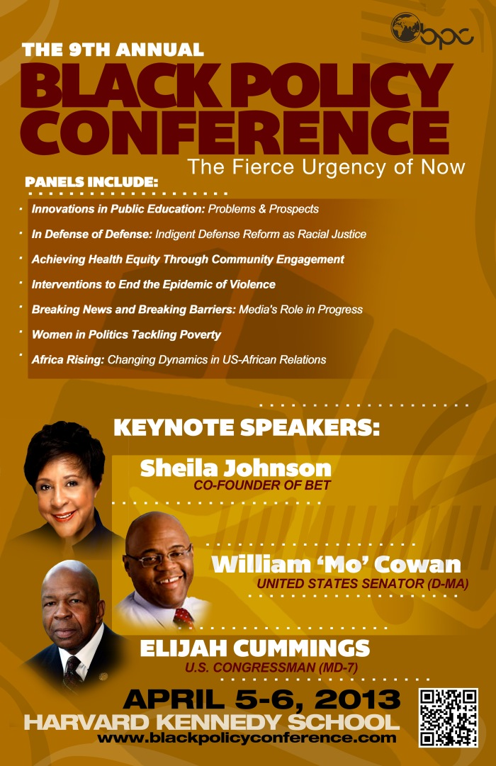 Black Policy Conference