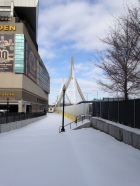 Zakim park Boston Garden